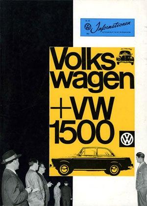 Magnesium und Shteel und Sans-Serif: 1961 Volkswagen 1500 Ad Campaign