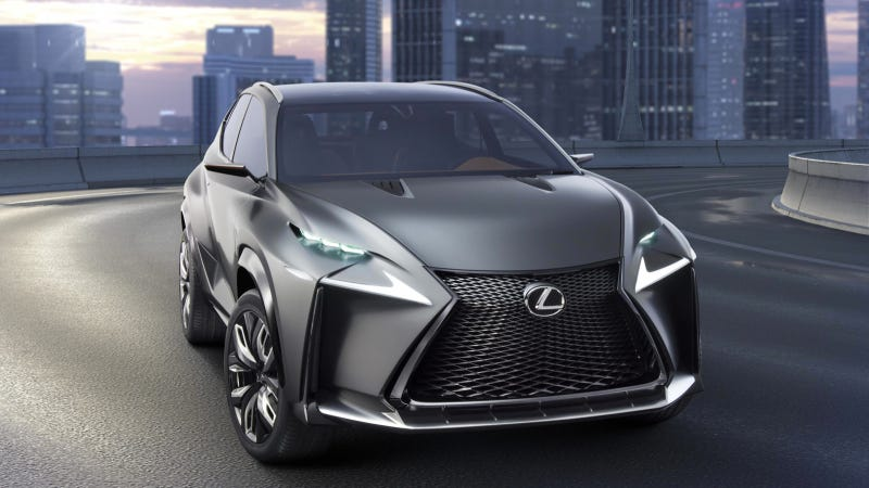 The Lexus LF-NX Concept Gets The Turbo Four The IS Needs Now