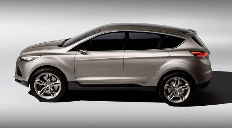 Ford Vertrek Concept Escapes from Europe
