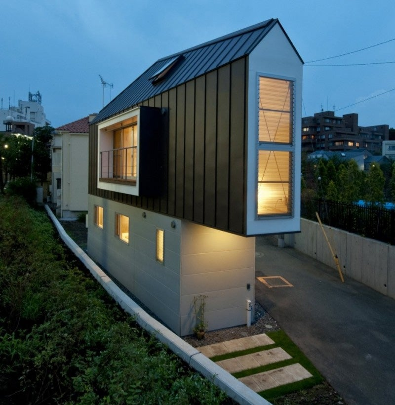 10 japanese micro homes that redefine living small for Tiny home architects