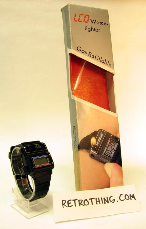 The Cigarette Lighter Watch: Because Everyone Smoked in the '80s