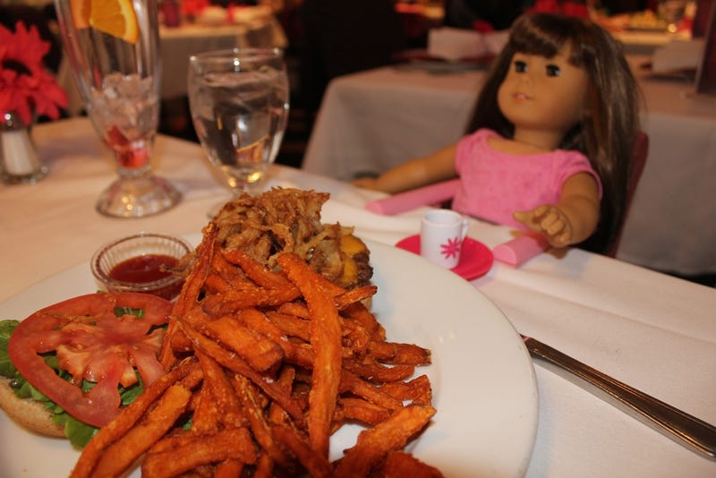 The best restaurant in new york is the american girl caf for American cuisine in nyc