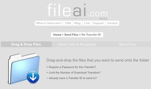 File Ai Shares Large Files Instantly
