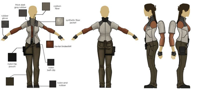 """How One Of The """"Hottest Video Game Babes of 2008"""" Was Designed"""