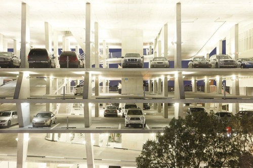 1111 Lincoln Road: Parking Garage Photos