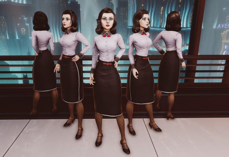 Elizabeth Looks Way Different in BioShock Infinite's Rapture DLC