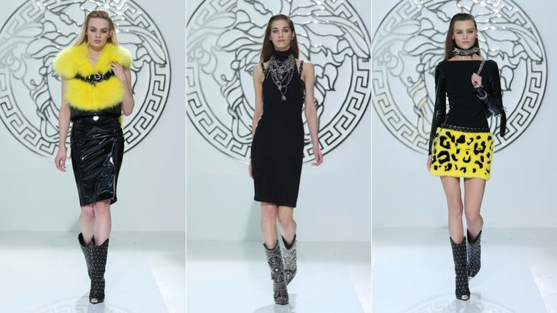 Versace, for the Punk Rock, Tiger-Owning Dominatrix Businesswoman in You