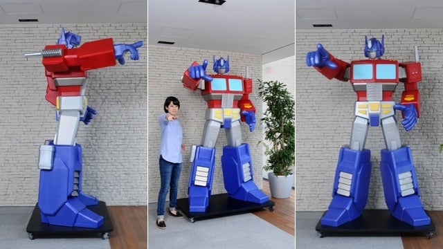Do You Have $30,000 for This Giant Optimus Prime Statue?