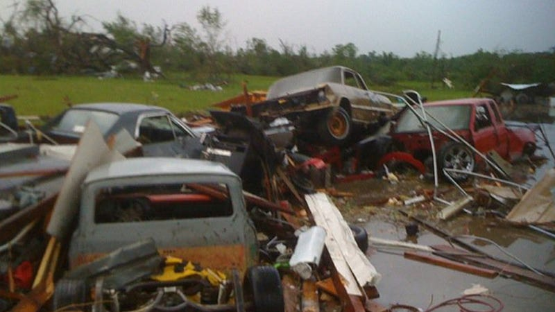 The El Camino that survived the Joplin tornado