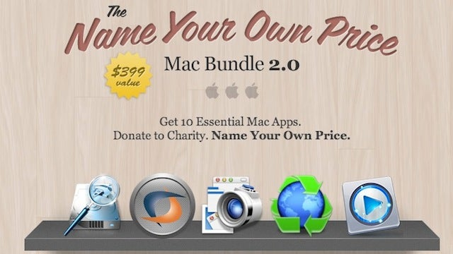 Name Your Own Price on $399 Worth of Mac Apps