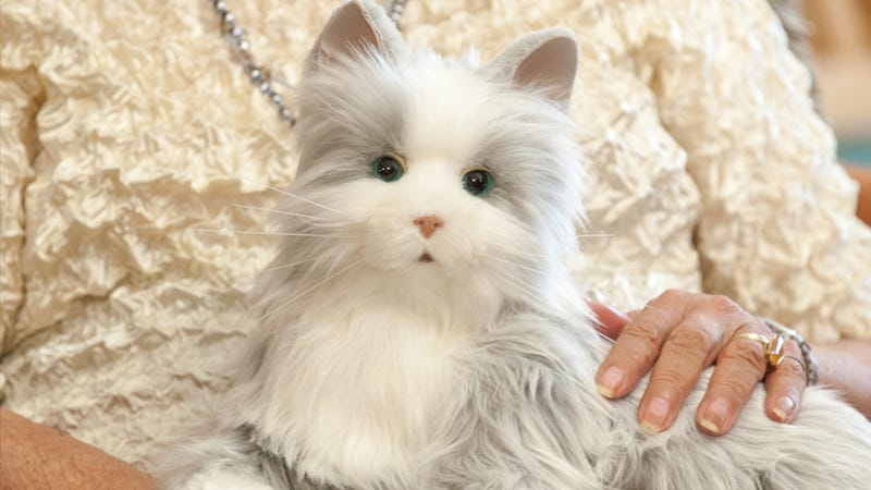 Hasbro Now Has a Toy Line For Seniors Starting With a Lifelike Robotic Cat