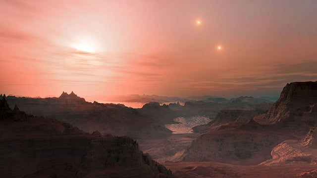 Astronomer discovers three potentially habitable planets orbiting around one red dwarf