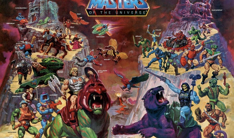 Masters of the Universe toy art will make a He-Man out of you