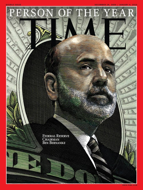 Time Names Ben Bernanke Person of the Year