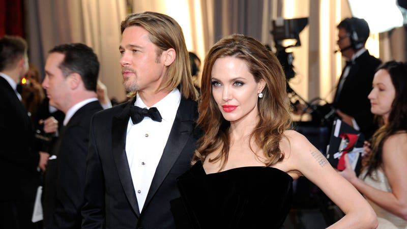 Brad and Angelina Ruined Jesus' Special Day by Getting Married on Christmas (Allegedly)