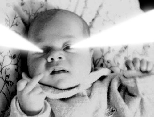 Babies With Laser Eyes: Nadir Or Gutter Of Web Culture?