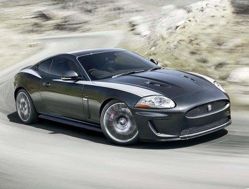 Jaguar XKR 75: More Power, More Stripes