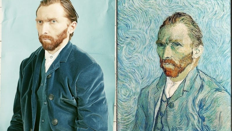The Selfie Van Gogh Would Have Taken if He Could Have