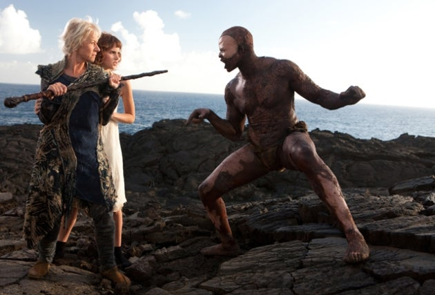 What's it like to square off with Helen Mirren's Prospera? Djimon Hounsou tells all!