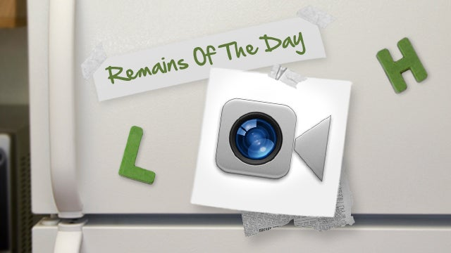 Remains of the Day: AT&T Might Charge for FaceTime Over 3G