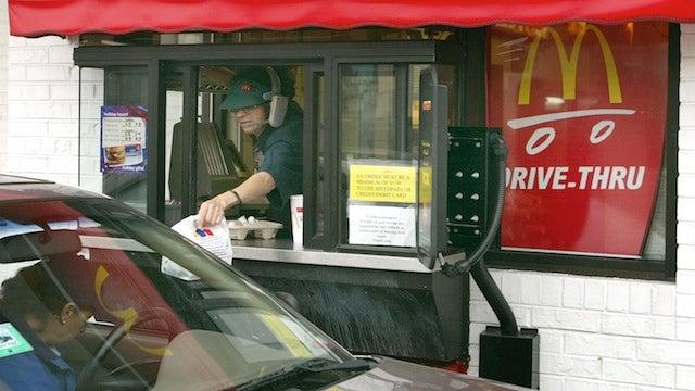 McDonald's Worker Finds Her Stolen Car in Drive-Thru Lane