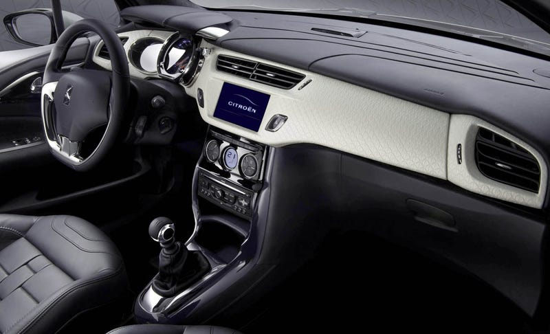 Citroen DS Inside Concept Gets Interior Sneak Peak