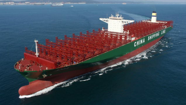 This Is the Biggest Cargo Ship on Earth