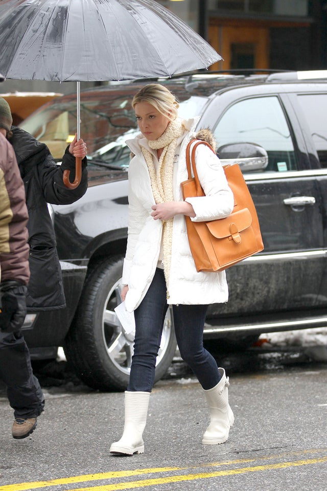 Katherine Heigl's Snowpocalypse Gear Is Way Too Clean