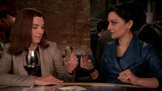 Archie Panjabi Doesn't Deny <i>Good Wife</i> Feud with Julianna Margulies