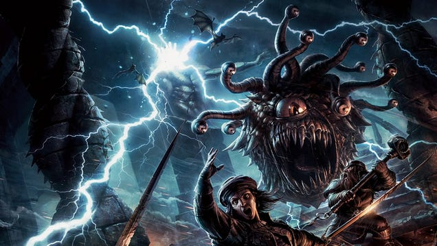 The D&D 5th Edition Monster Manual Is a Cornucopia of Classic Creatures