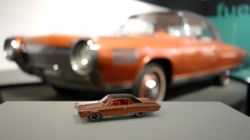 Hot Wheels paired with real-life counterparts