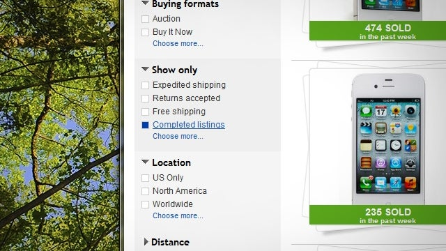 "Search eBay for ""Completed Listings"" to Know How Much Your Stuff Is Worth"