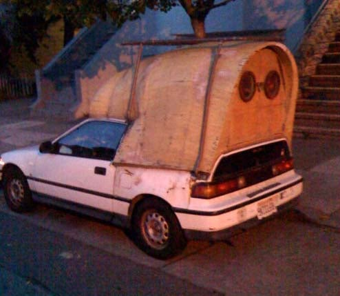 Covered Wagon CRX, The Solution To San Francisco Housing Costs