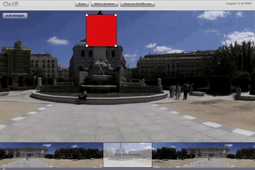CleVR Creates Photo Panoramas with Ease