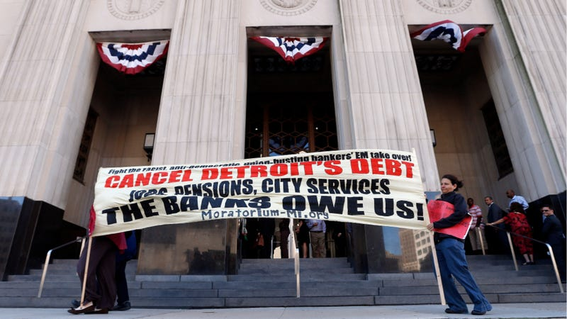 Judge Clears Way For Detroit Bankruptcy To Proceed