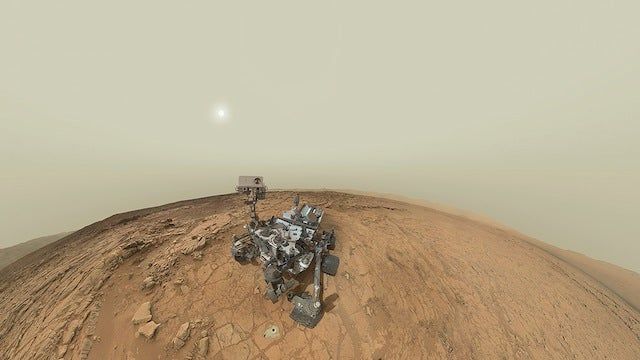 Curiosity's panoramic self-portrait lets you explore a tiny corner of Mars