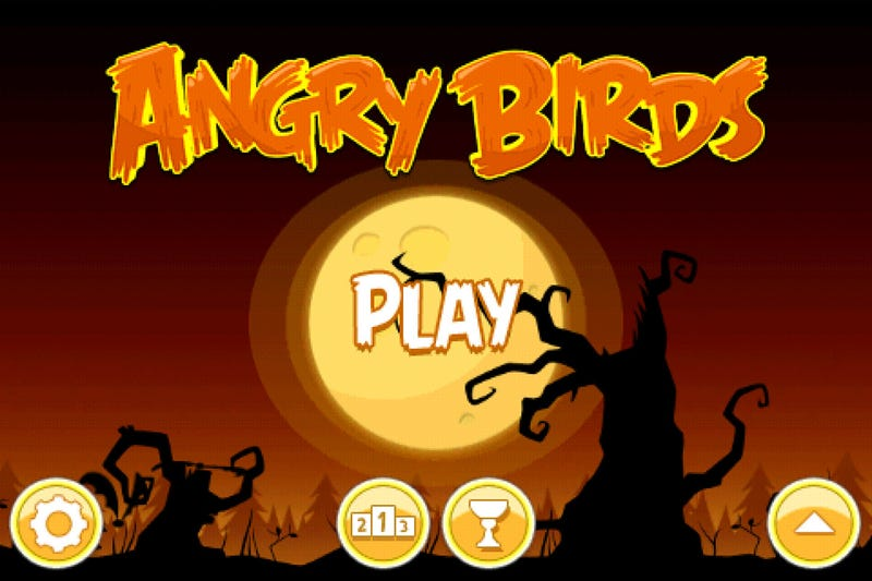 A Very Angry Birds Halloween