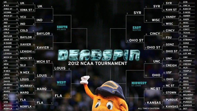 Deadspin Does March Madness: The Sweet Sixteen