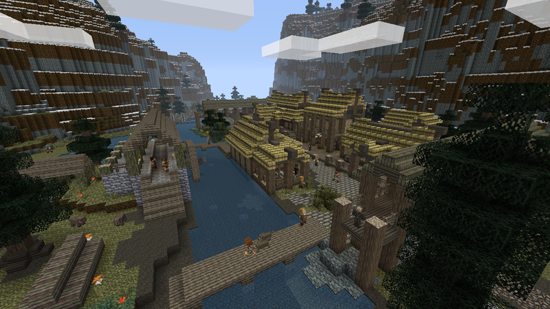 Minecraft Gets An Official Skyrim Make-Over