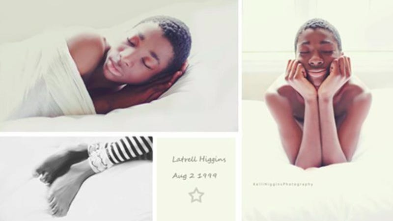 Adopted 13-Year-Old Finally Gets His Very Own Newborn Photo Shoot