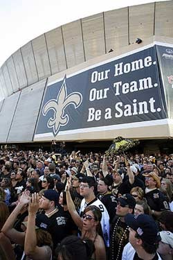 Why Take A Home Game Away From The Saints?
