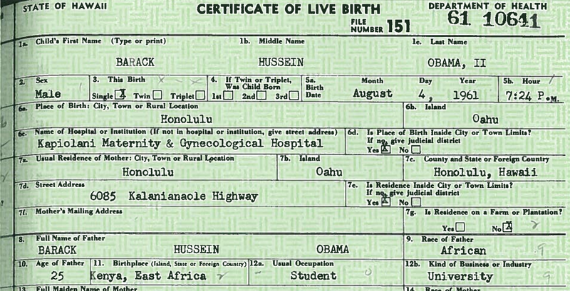 Hawaii Official Who Verified Obama's Birth Records Dies in Plane Crash