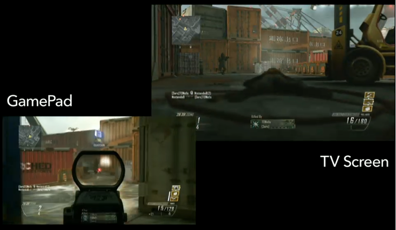The Wii U Version of Call of Duty: Black Ops II Uses the GamePad Screen for Splitscreen Multiplayer