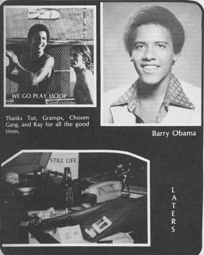 "Before They Were Genuinely Famous: ""Barry"" Obama"