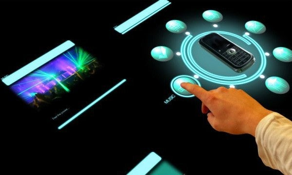 Sony atracTable Interactive Surface Is Surfacing This June