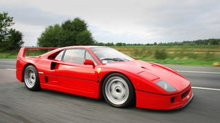 Today's random car sighting: Ferrari F40