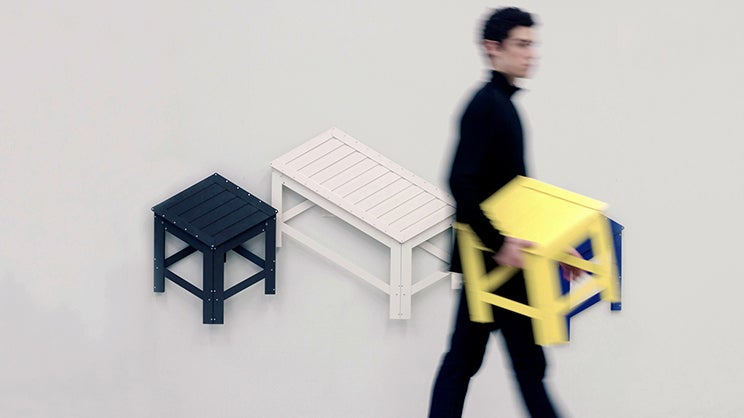 Furniture that Flattens Into Wall Art Is Perfect For Cramped Apartments