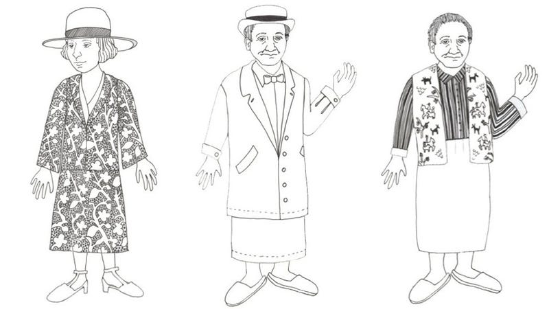 Here Are Some Gertrude Stein And Alice B. Toklas Paper Dolls