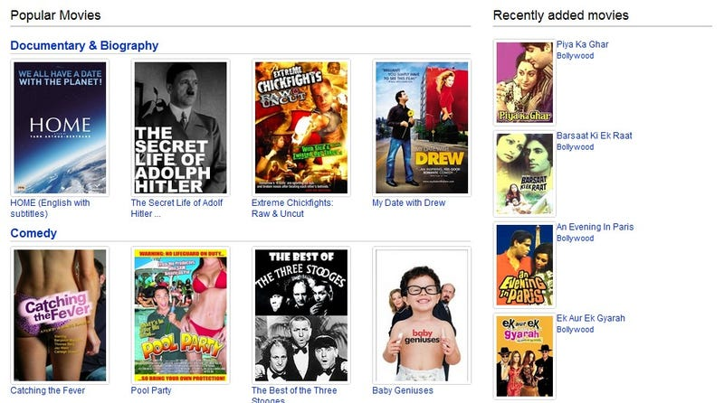 YouTube Rolls Out Full-Fledged Movie Section; Shares 400 Free Films
