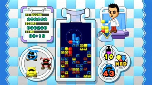 Dr. Mario Online RX Joins Initial U.S. WiiWare Releases
